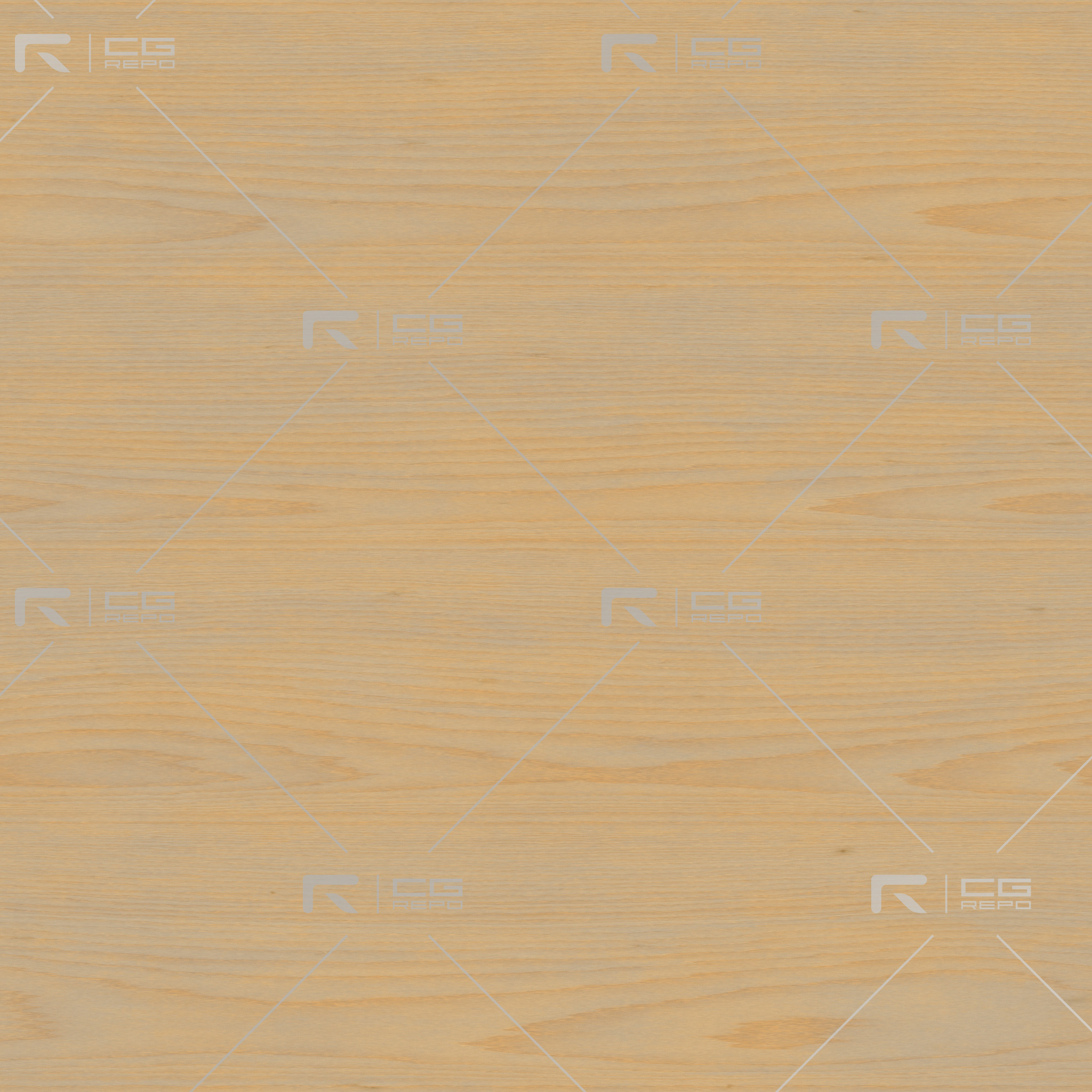 Birch - PlyWood - Flat BaseColor Texture