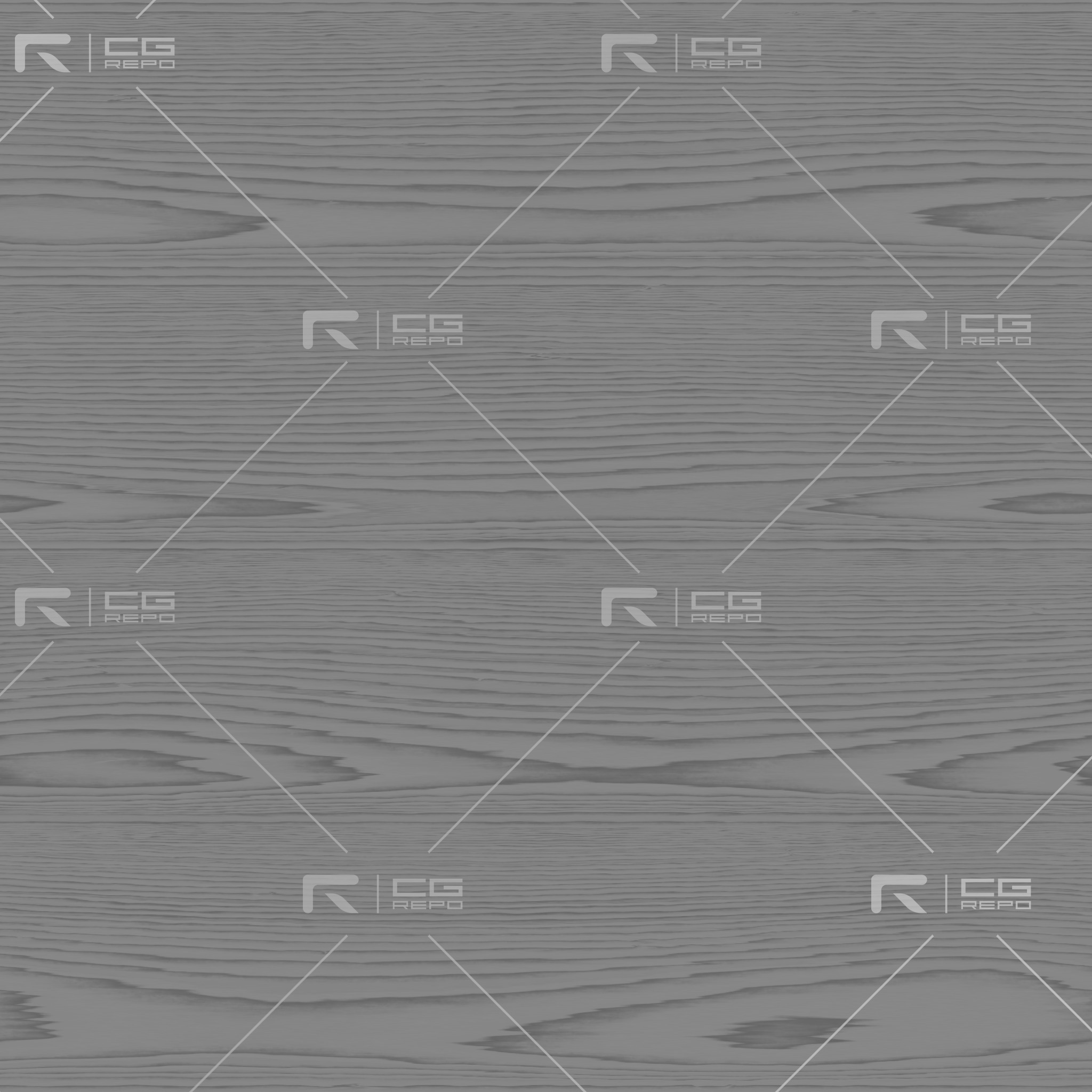 Birch - PlyWood - Flat Roughness Texture