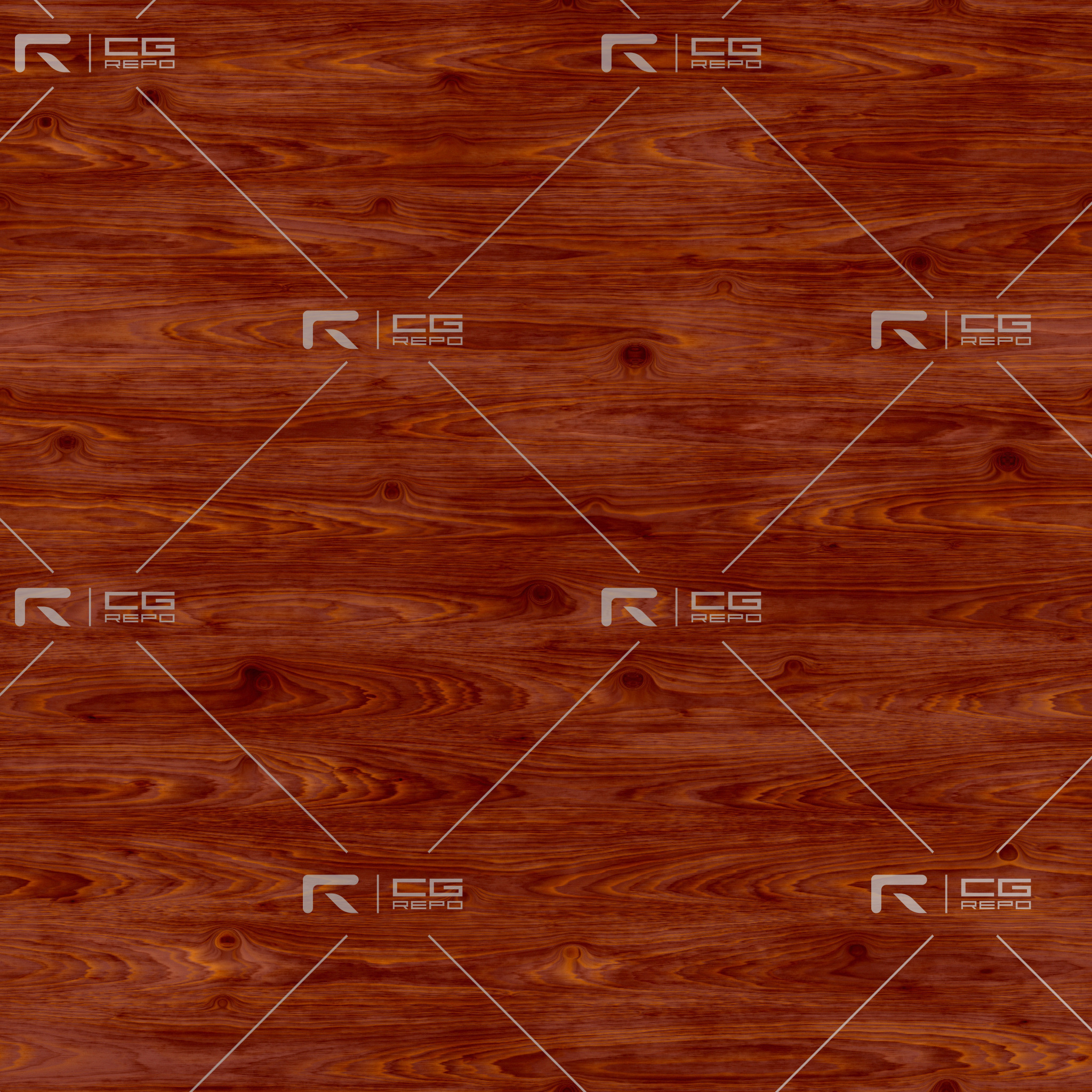 Cedar - Red - Cathedral Crown BaseColor Texture