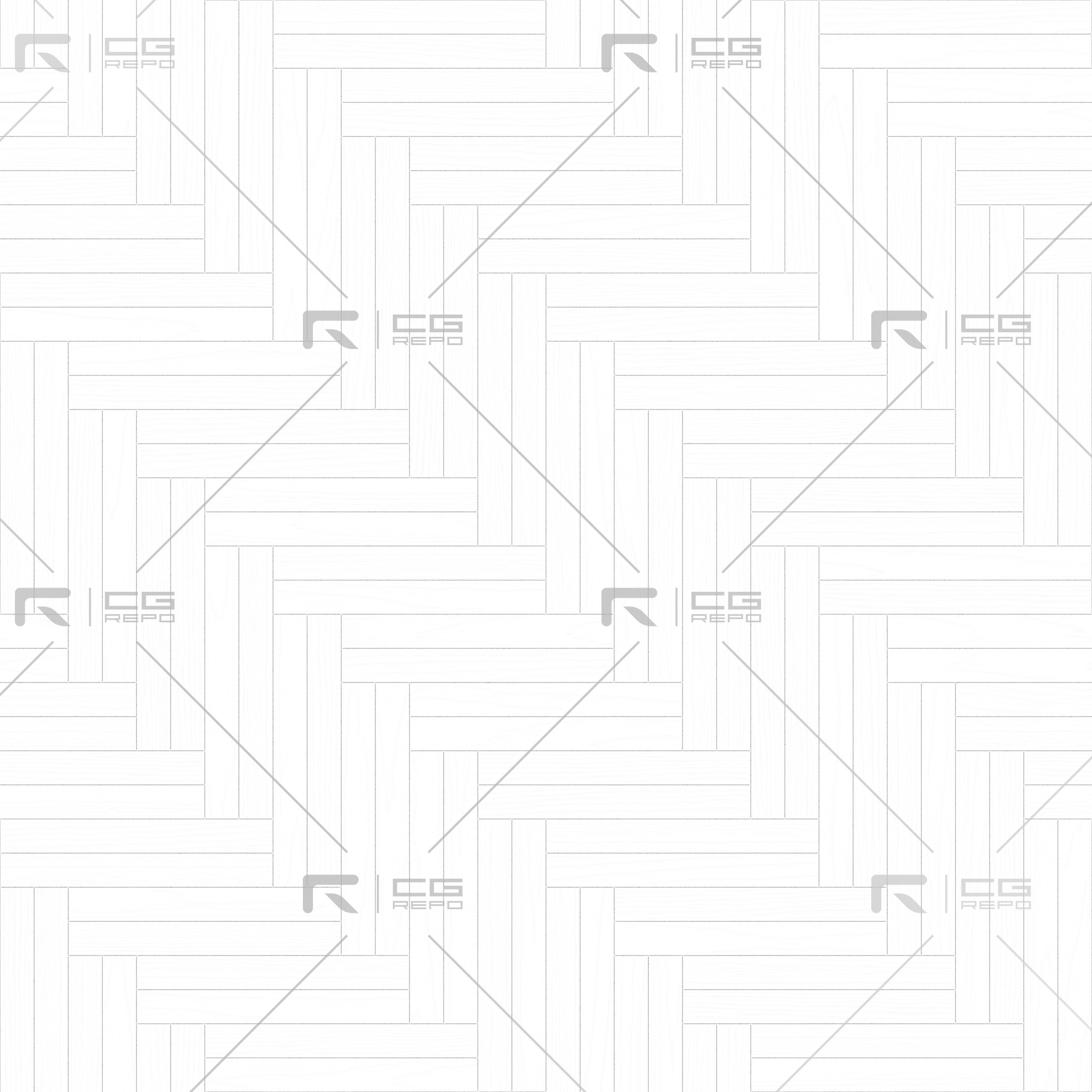 Oak English Brown Double Herringbone Ambient Occlusion Texture