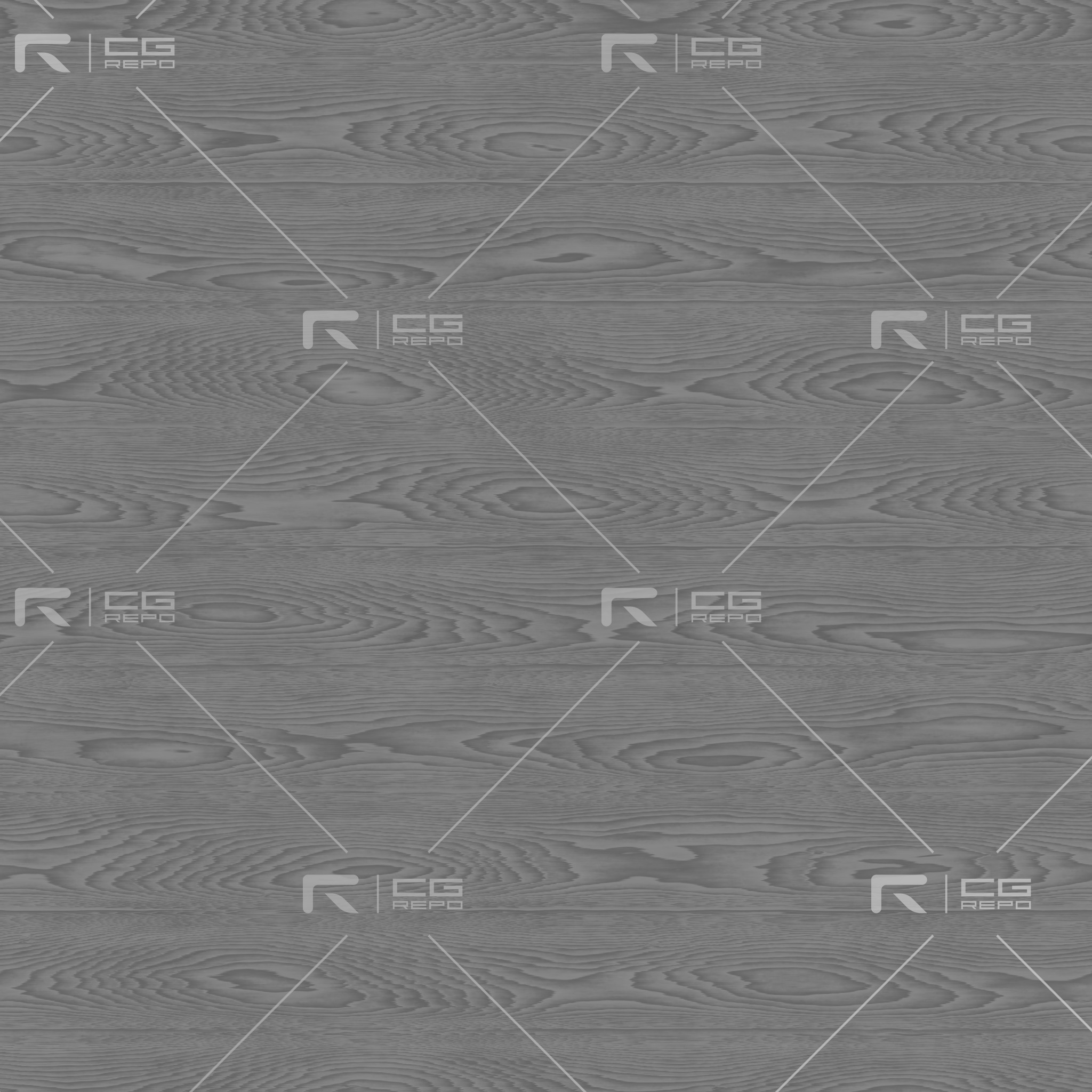 Oak - Painted Grunge Grey - Cathedral Shape Roughness Texture
