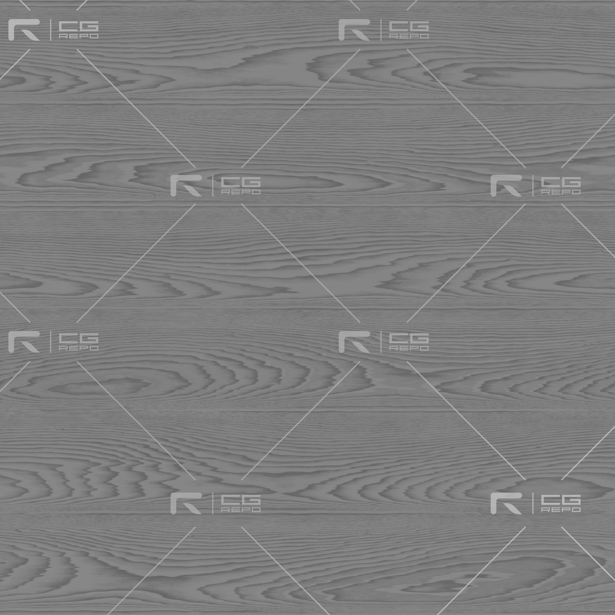 Oak - Smoked Grey - Cathedral Shape Roughness Texture