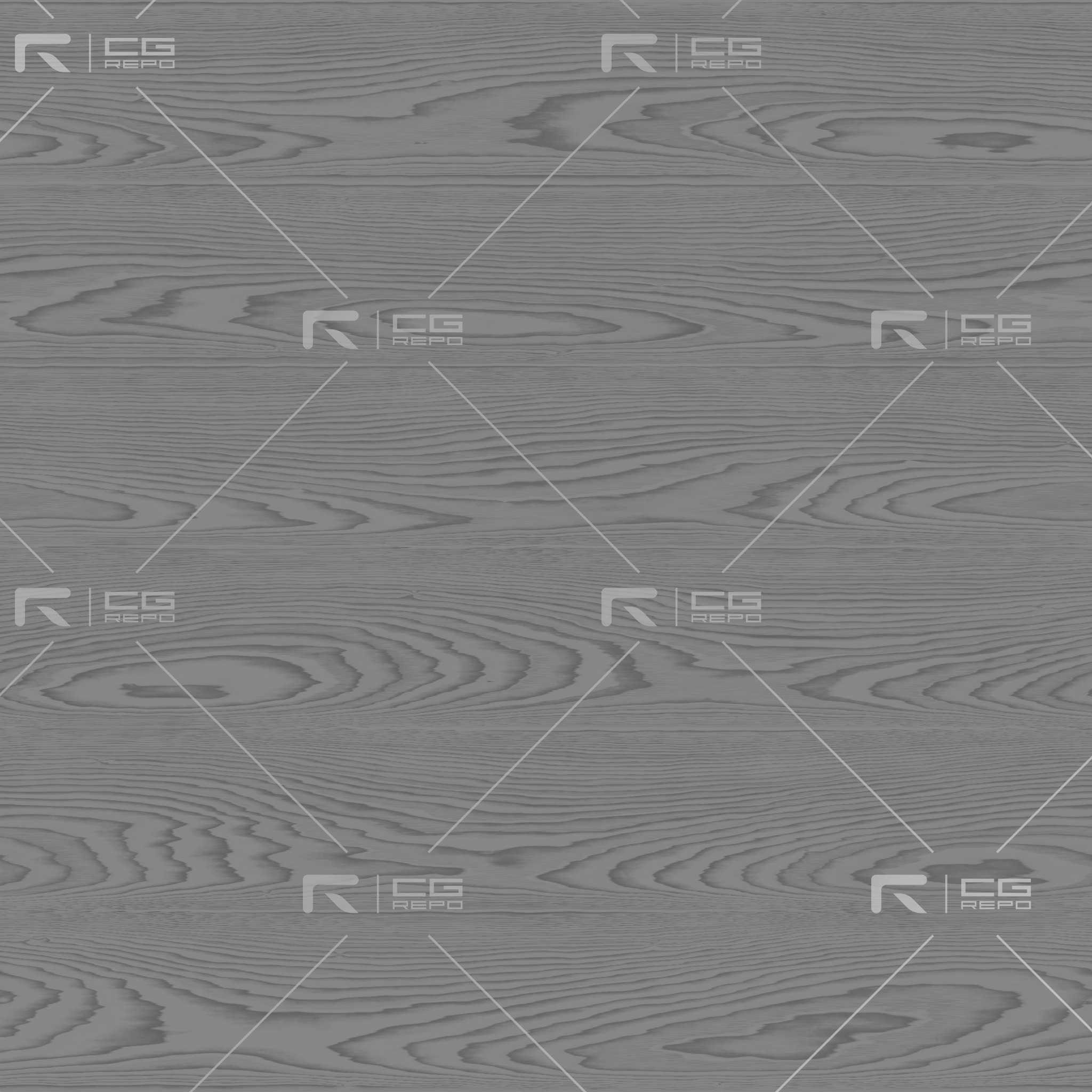 Oak - White Thin Laquered - Flat Roughness Texture