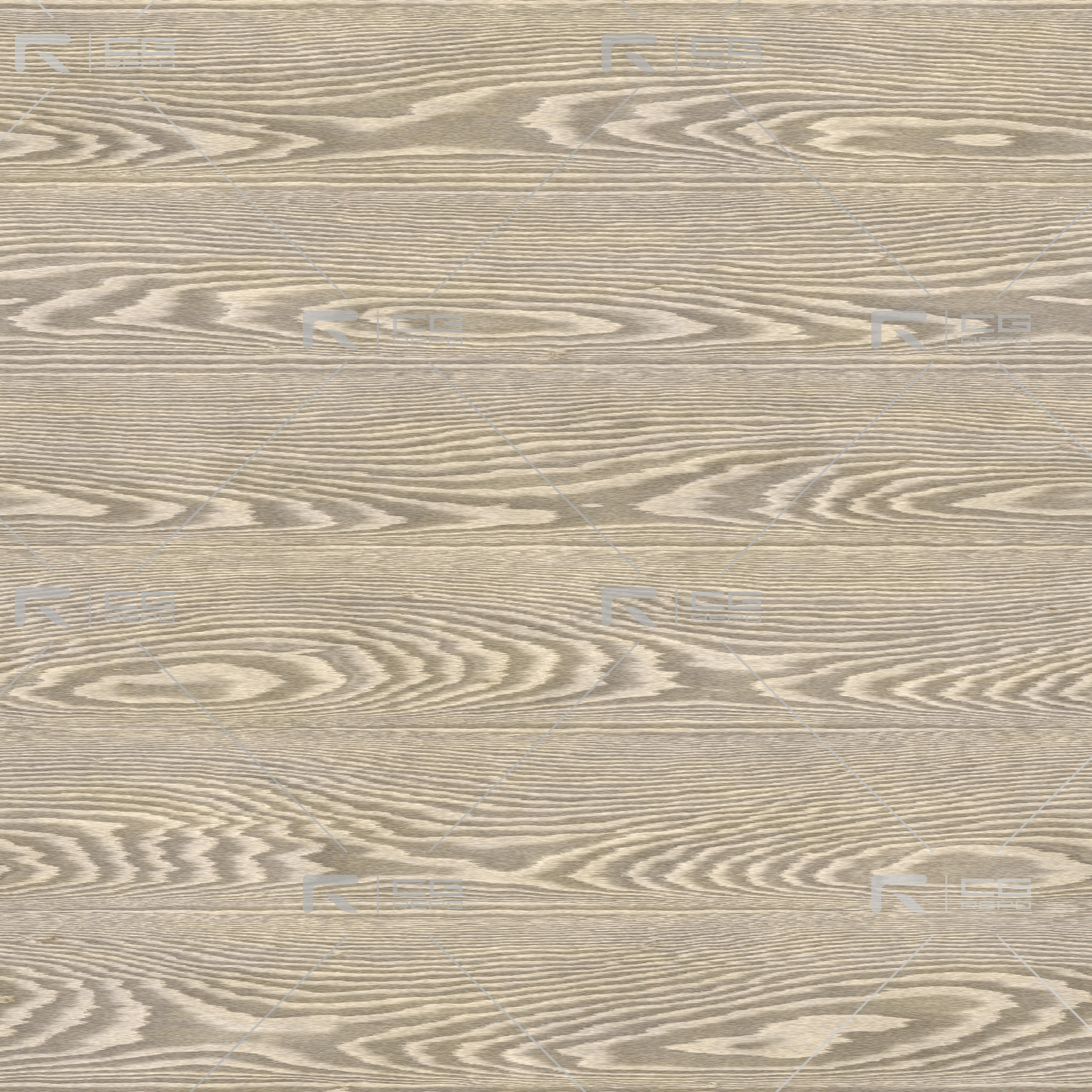 Oak - White Washed - Cathedral Shape BaseColor Texture