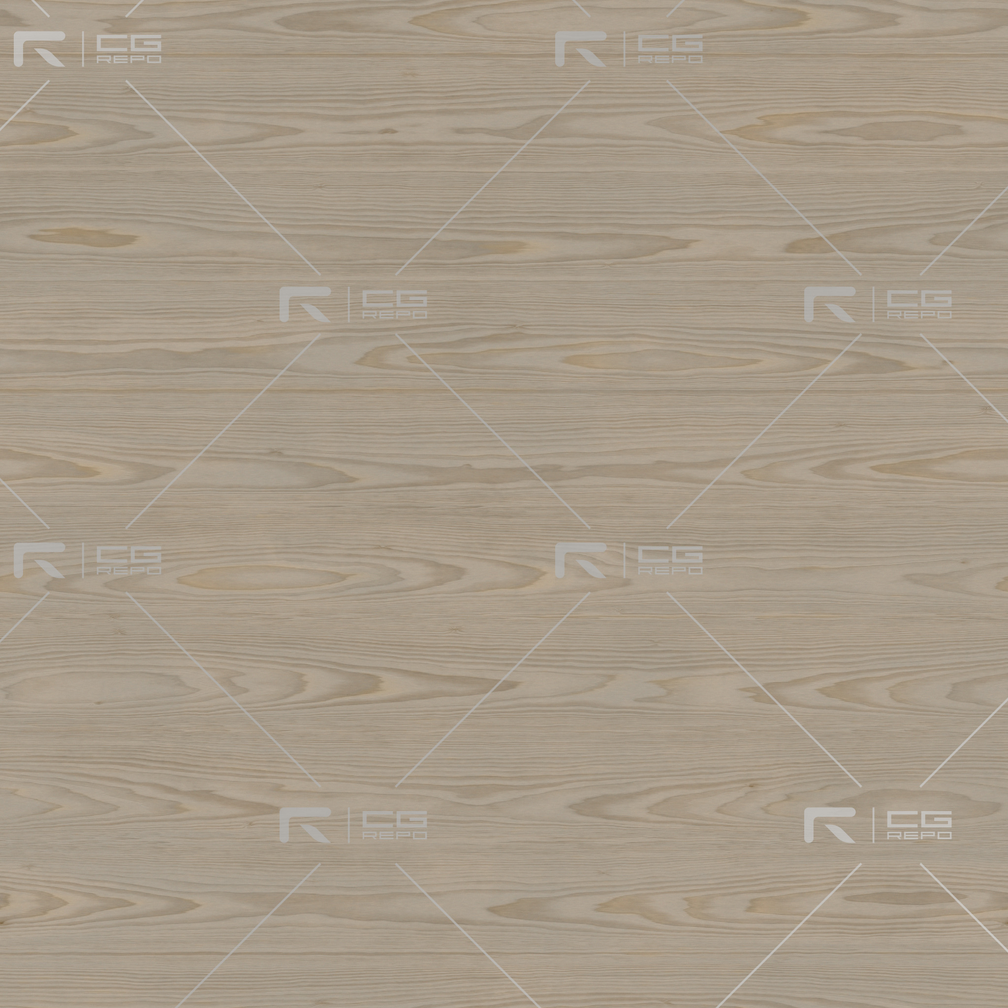 Poplar - Natural - Cathedral Shape BaseColor Texture