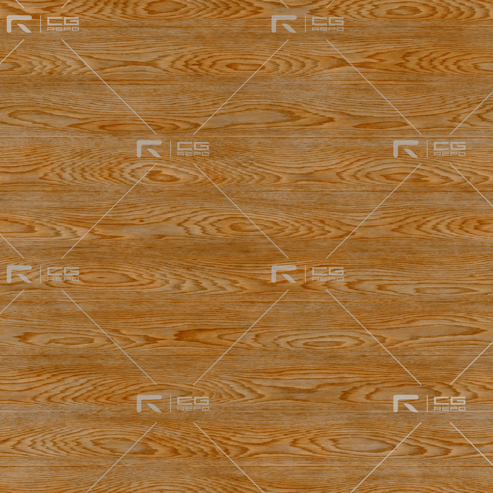 Red Oak - Cathedral Shape BaseColor Texture