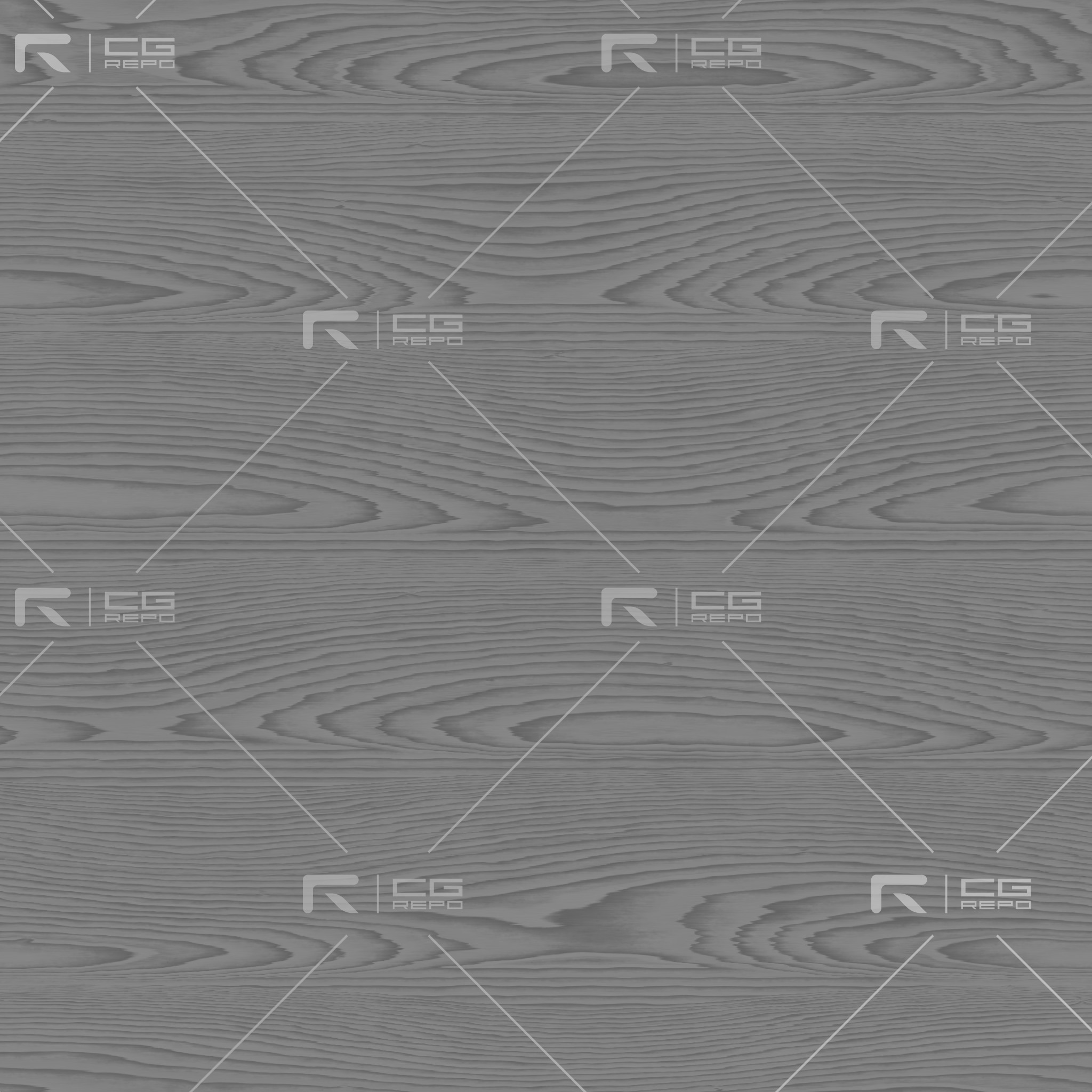 Red Oak - Flat Sawn Roughness Texture