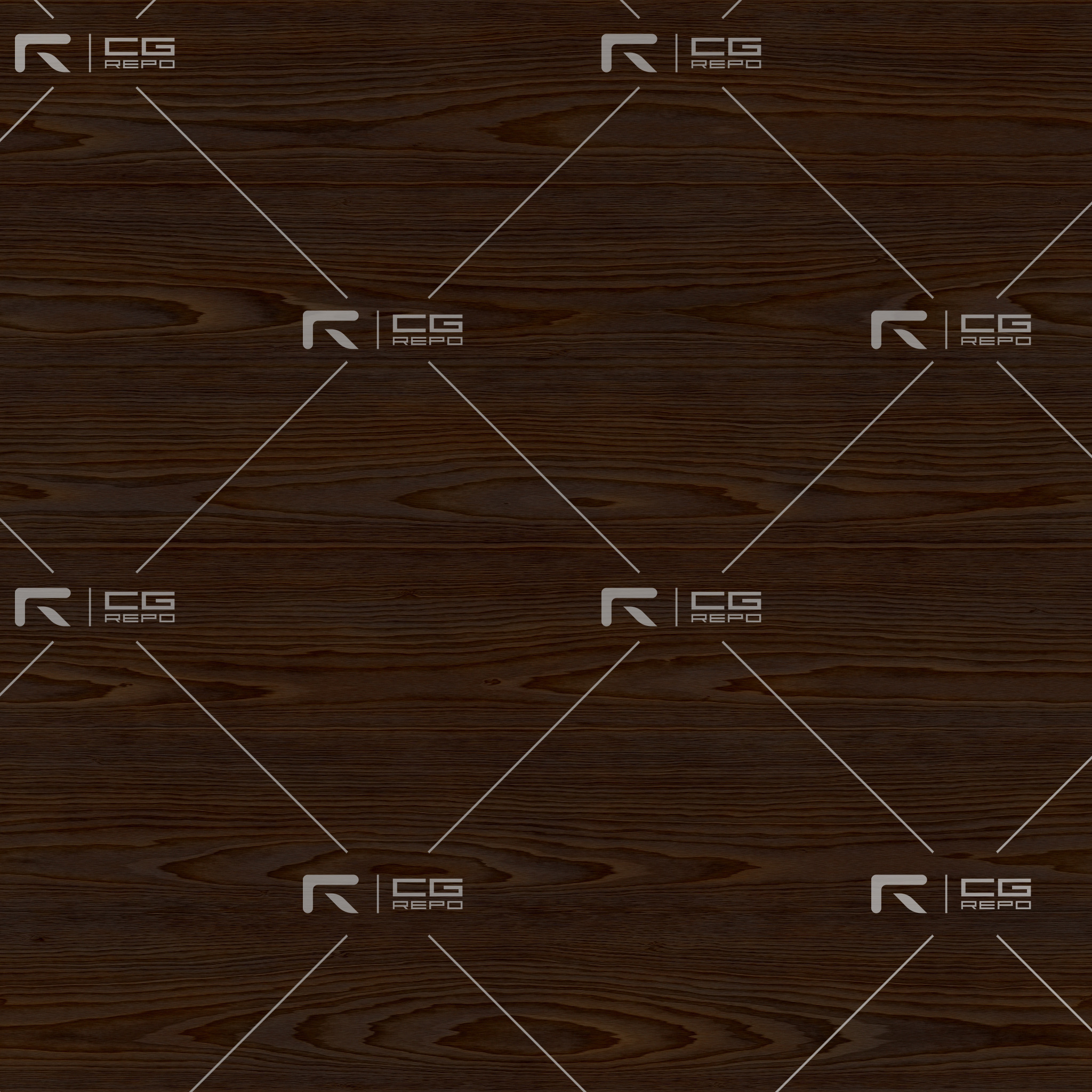 Walnut - Natural - Cathedral Shape BaseColor Texture