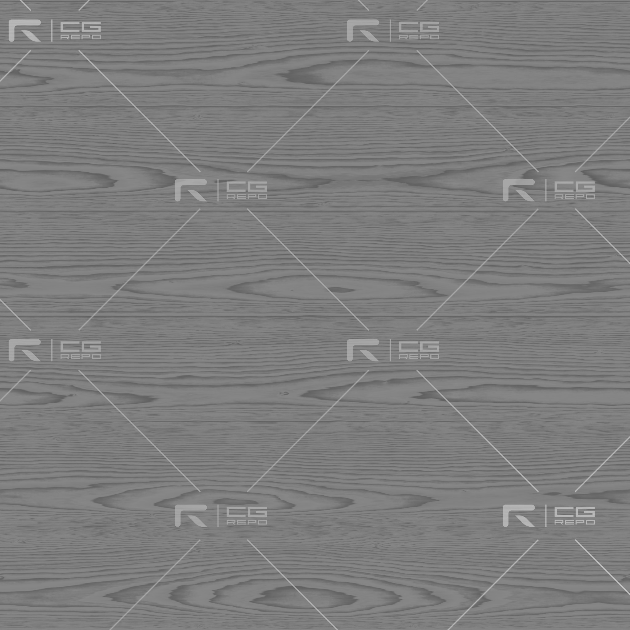 Walnut - Natural - Cathedral Shape Roughness Texture