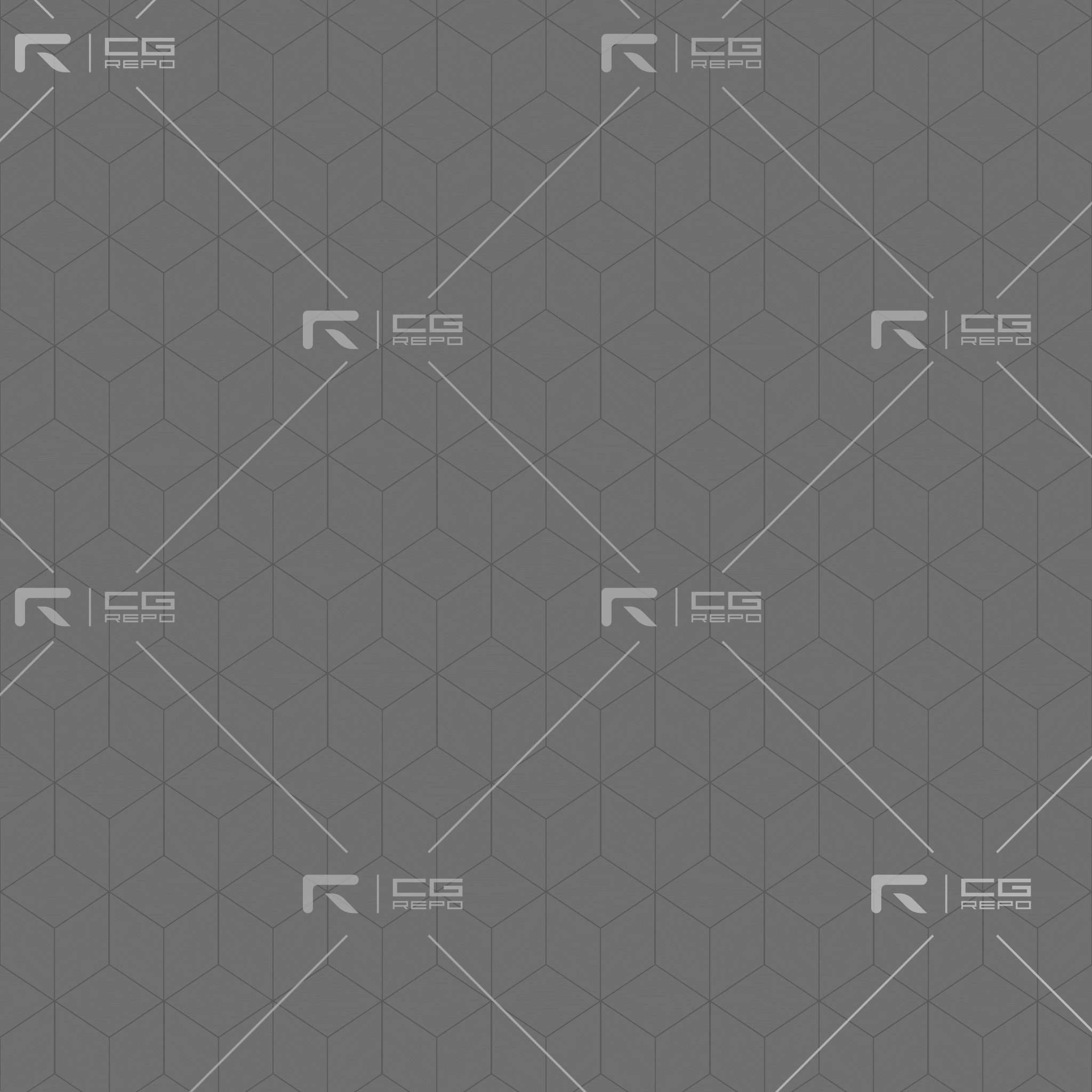 Ash Black Cubic Height Texture