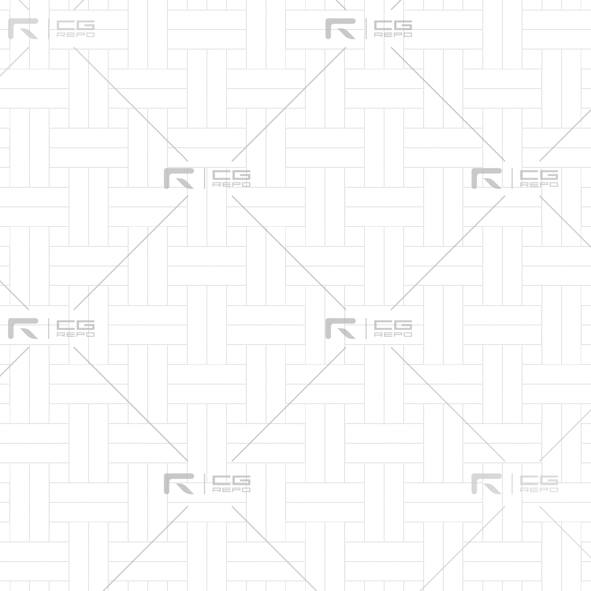 Ash White Basket Weave Ambient Occlusion Texture