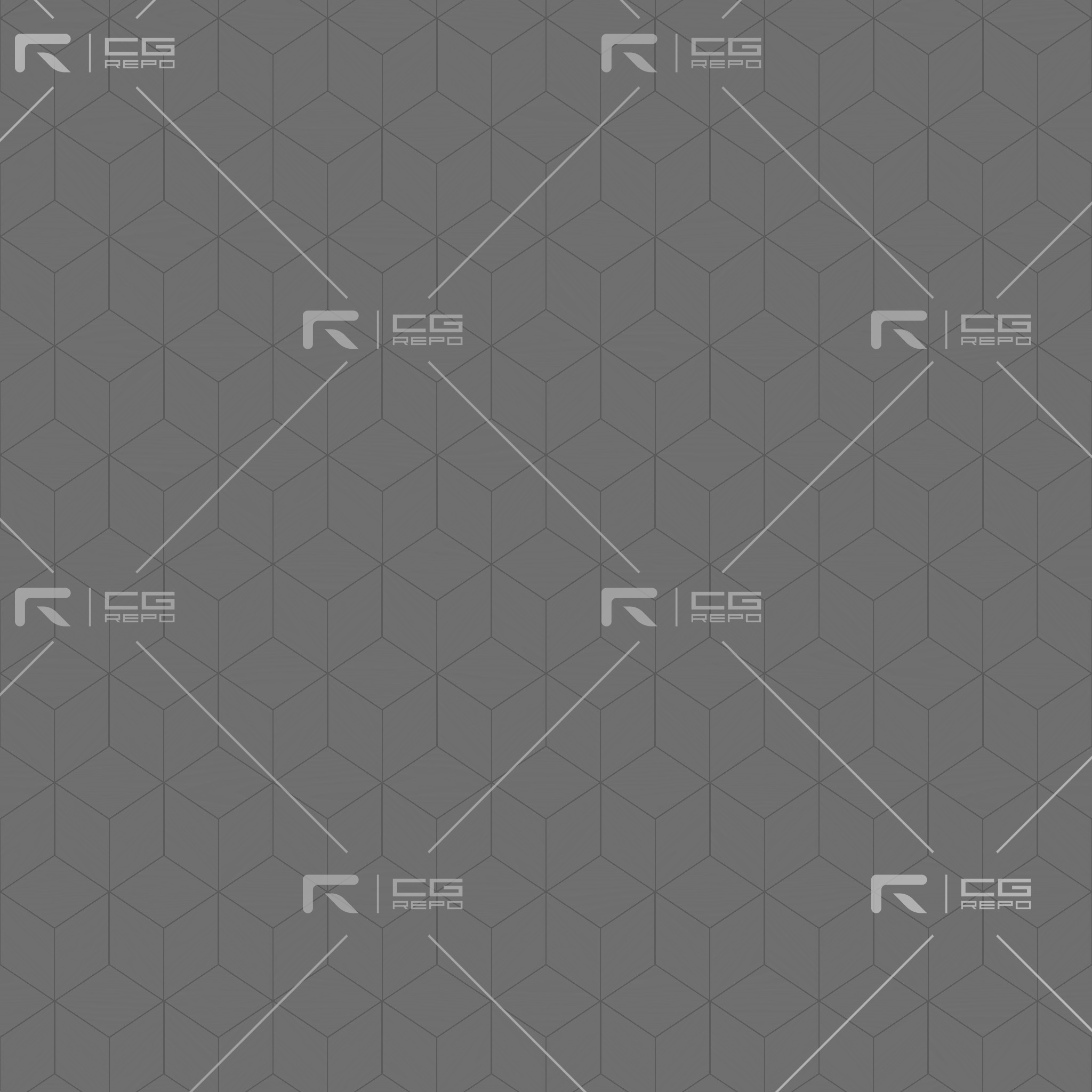 Ash White Cubic Height Texture