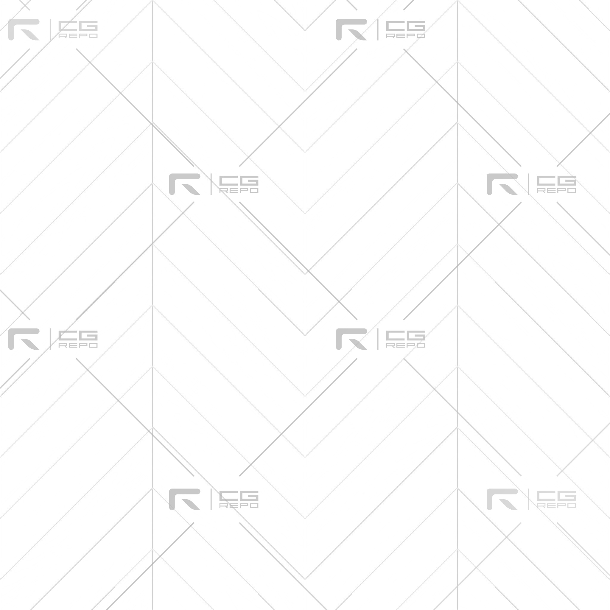 Beech Natural Chevron Ambient Occlusion Texture