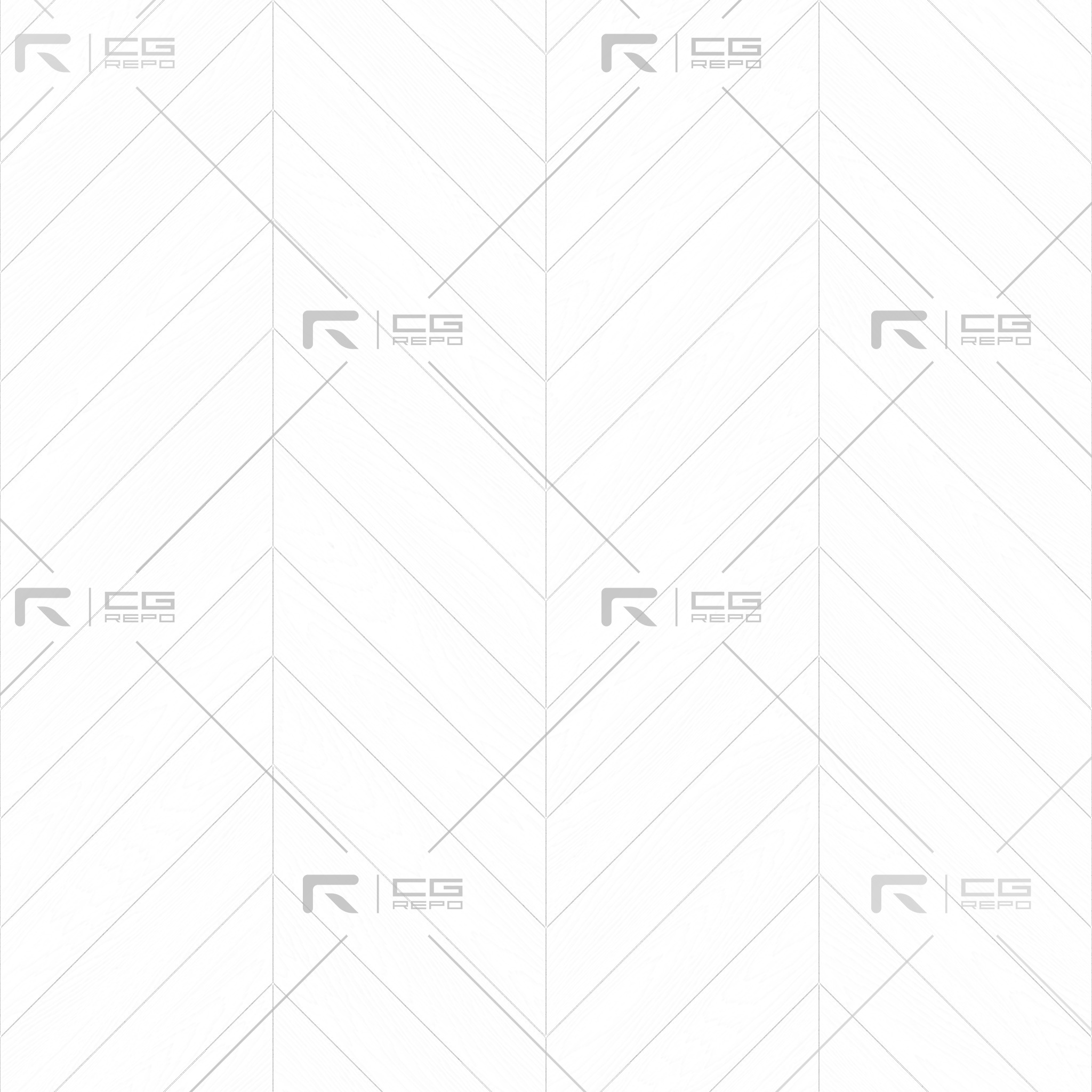 Oak Light Smoked Chevron Ambient Occlusion Texture