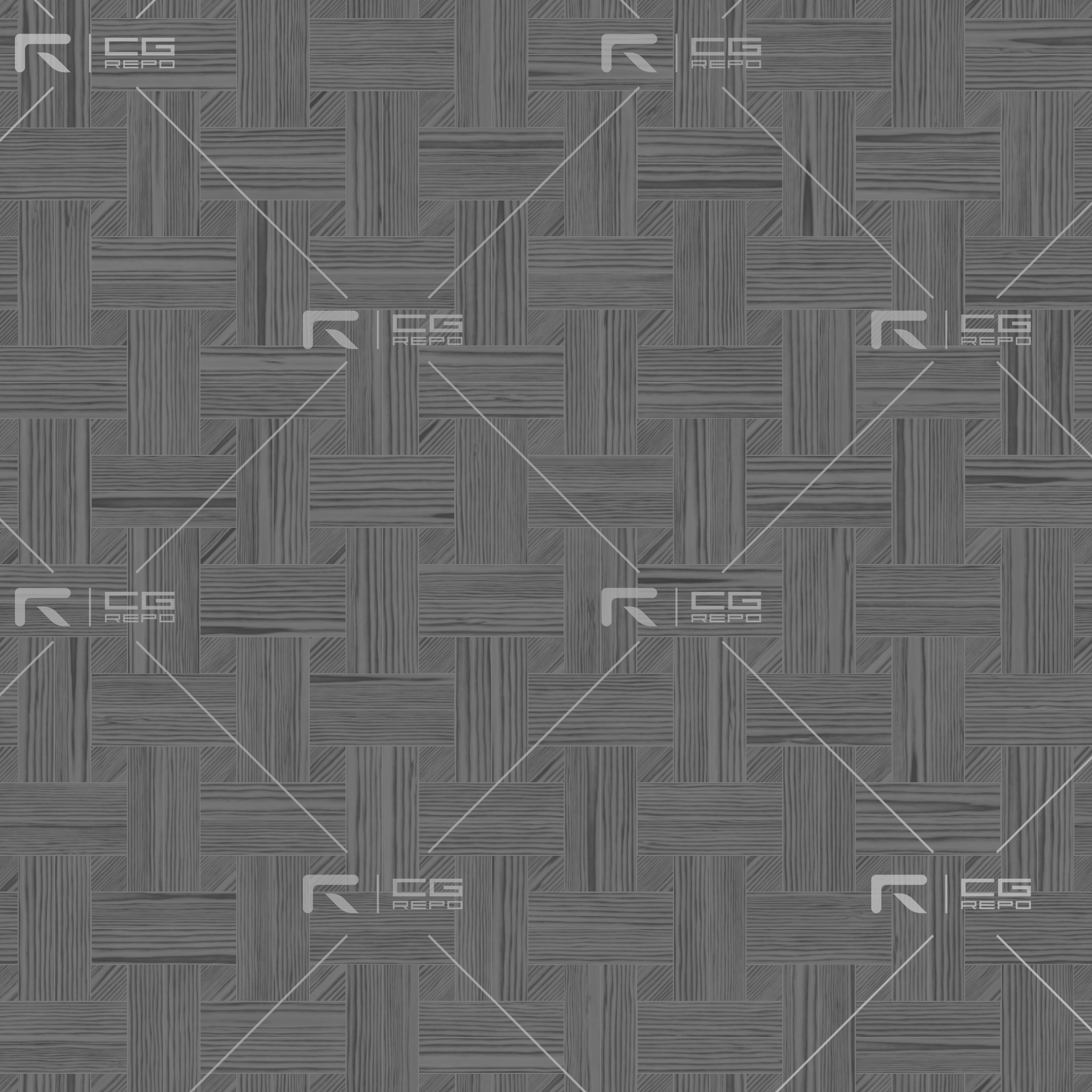 Ebony Natural Basket Weave Roughness Texture